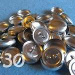 50 Covered Buttons - 3/4 in..