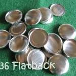 25 Covered Buttons FLAT BAC..