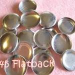 12 Covered Buttons FLAT BAC..