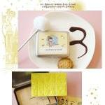 Korean Diy Wooden Stamp Se..