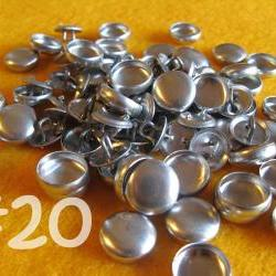 25 Covered Buttons - 1/2 inch - Size 20