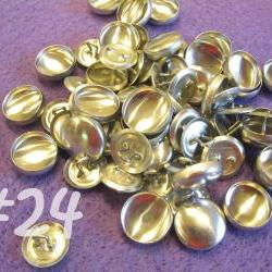 SALE - 100 Covered Buttons - 5/8 inch - Size 24