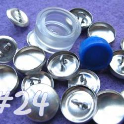 Covered Button Kit - 5/8 inch - Size 24
