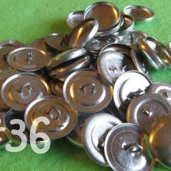 25 Covered Buttons - 7/8 inch - Size 36