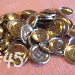 SALE - 100 Covered Buttons - 1 1/8 inches - Size 45